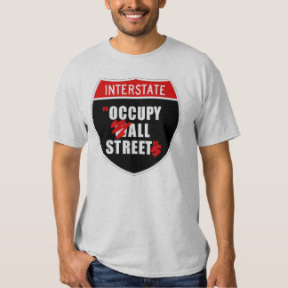 OCCUPY ALL STREETS TEE SHIRT