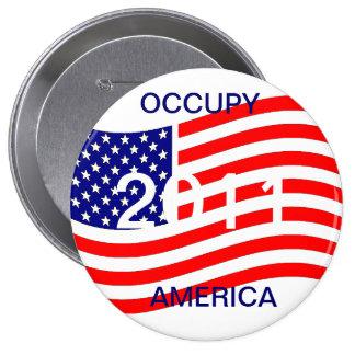 OCCUPY AMERICA 2011 BUTTON