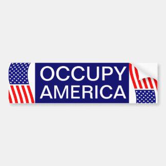 OCCUPY AMERICA BUMPER STICKERS