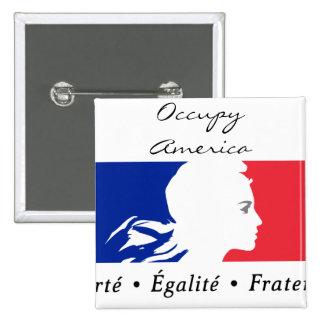 occupy america button