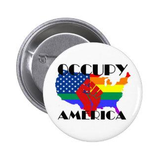 Occupy America - LGBTQ Buttons