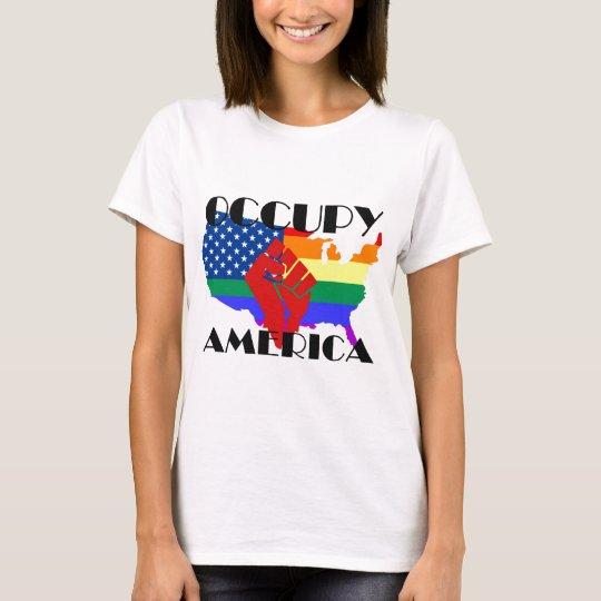 Occupy America - LGBTQ T-Shirt