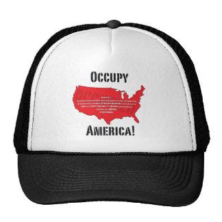 Occupy America! Trucker Hat