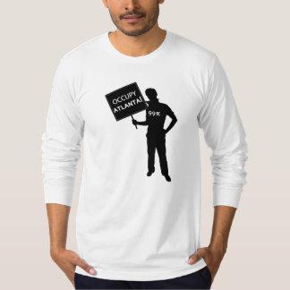 Occupy Atlanta Sign Shirt