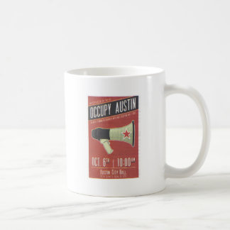 Occupy Austin - Occupy Wall Street Coffee Mugs