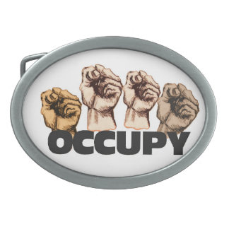 OCCUPY! BELT BUCKLE
