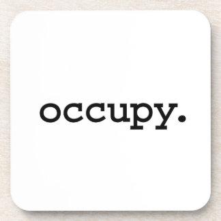 occupy. beverage coaster