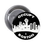 Occupy Boston 2 Inch Round Button