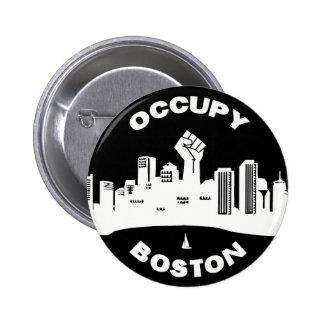 Occupy Boston Button