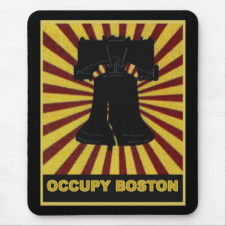 Occupy Boston Flyer October 2011. Occupy Wall St Mouse Pad