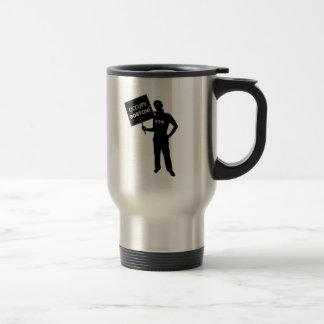 Occupy Boston Sign Coffee Mug