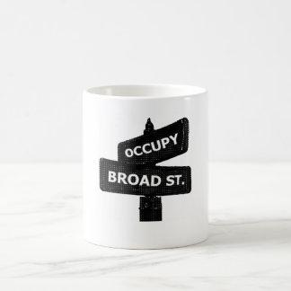 Occupy Broad St. Mug