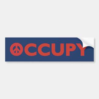 Occupy BUmper Sticker Car Bumper Sticker