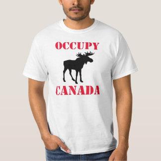 Occupy Canada: Moose Tee Shirt