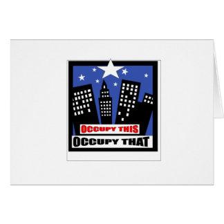 occupy card