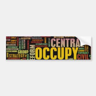 Occupy Central Hong Kong Bumper Sticker
