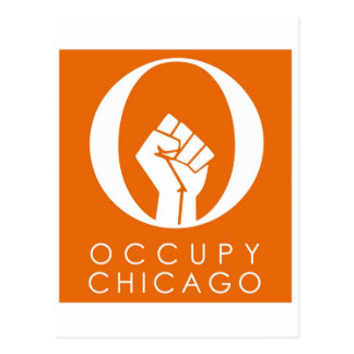 Occupy Chicago Postcard