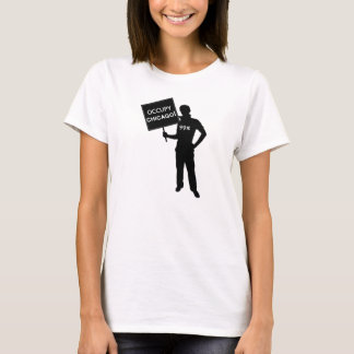 Occupy Chicago Sign Shirt
