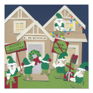 Occupy Christmas 5x5 Card