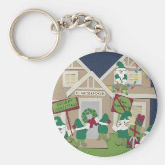 Occupy Christmas Keychain