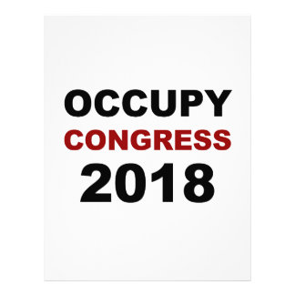 Occupy Congress 2018 Letterhead