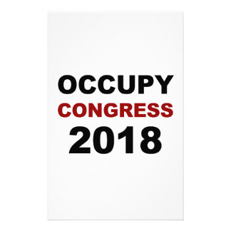 Occupy Congress 2018 Stationery