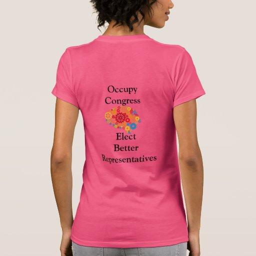 Occupy congress tshirts