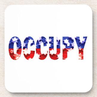 Occupy Cork Coaster