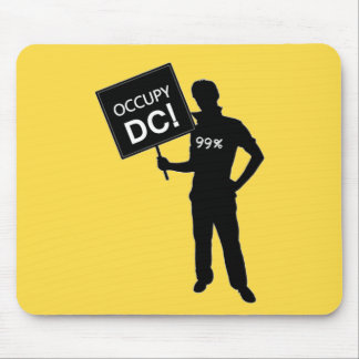 Occupy DC Sign Mouse Pad