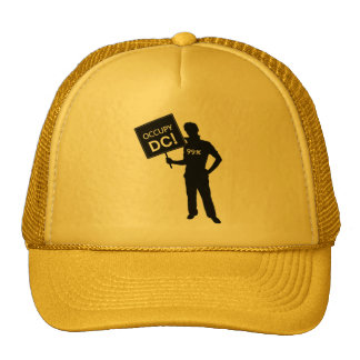 Occupy DC Sign Trucker Hat