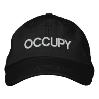 OCCUPY embroidered hat