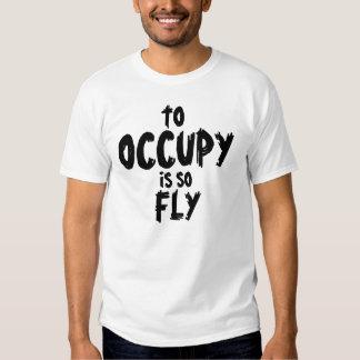 Occupy es así que la camisa de la mosca
