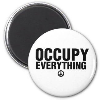 Occupy everything magnet