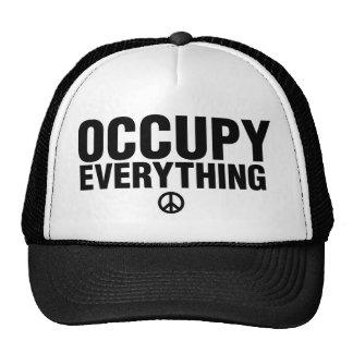Occupy everything trucker hat