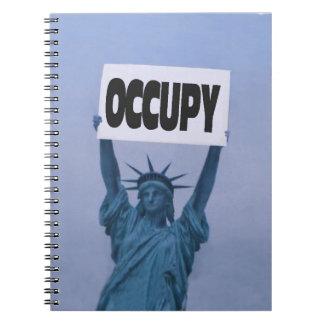 Occupy Everywhere Spiral Notebook