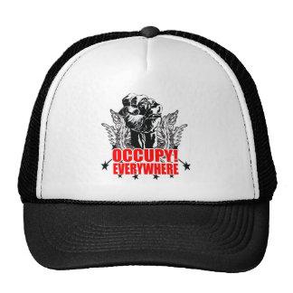 Occupy Everywhere Trucker Hat