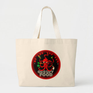 Occupy food- we are the 99 tote bags