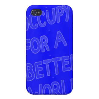 Occupy for a Better World Cover For iPhone 4