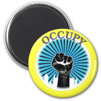 OCCUPY FREEDOM MAGNET