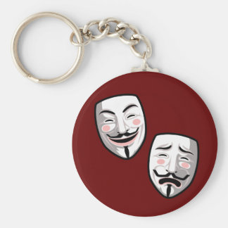 Occupy Hollywood Key Chains