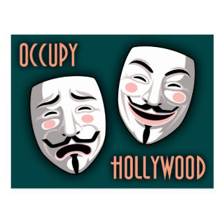 Occupy Hollywood Postcard