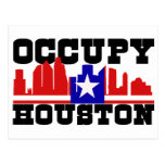 Occupy Houston Post Cards