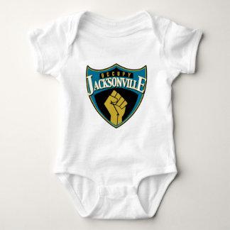 Occupy Jacksonville Baby Bodysuit