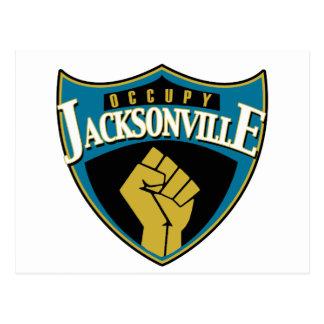 Occupy Jacksonville Postcard