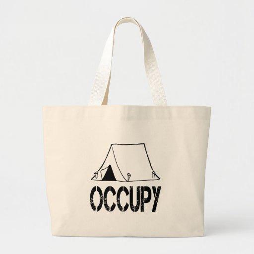 Occupy Jumbo Tote Bag