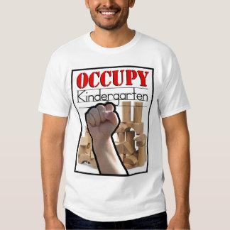 Occupy Kindergarten by Kurt Schwengel T Shirts