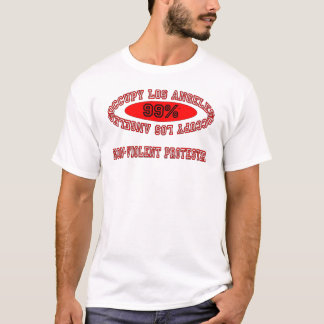 Occupy LA - Non-Violent Protester T-Shirt