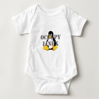 OCCUPY LINUX BABY BODYSUIT