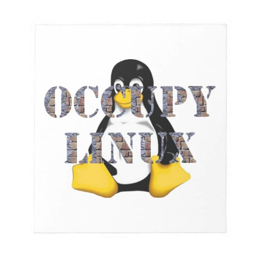 OCCUPY LINUX MEMO NOTE PAD