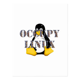 OCCUPY LINUX POSTCARD